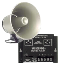 Viking PA and Ringer Two Watt Amplifier and Horn  $139.00